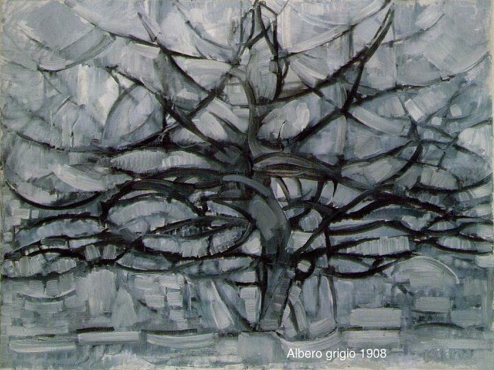 Albero grigio 1908