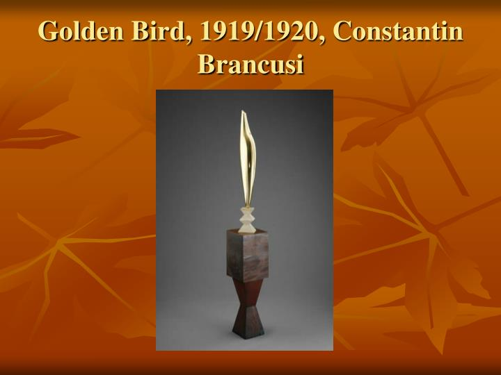 Golden Bird, 1919/1920, Constantin Brancusi