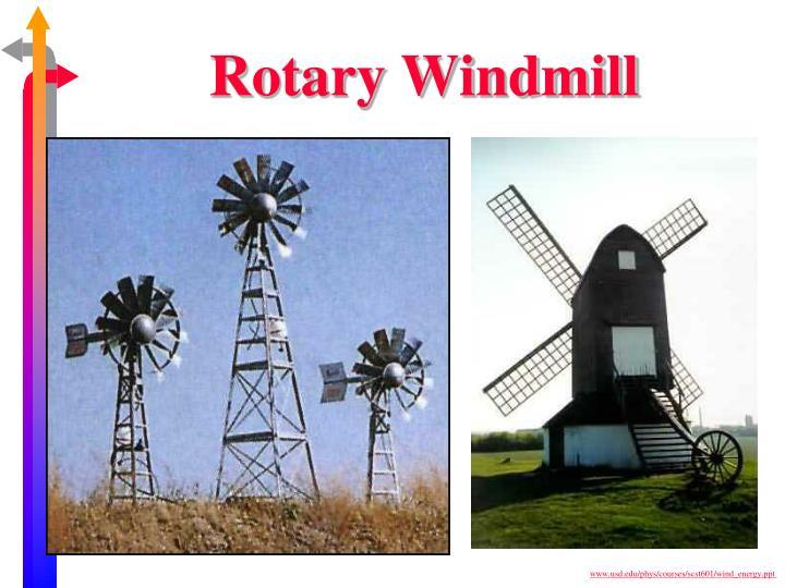 Rotary Windmill