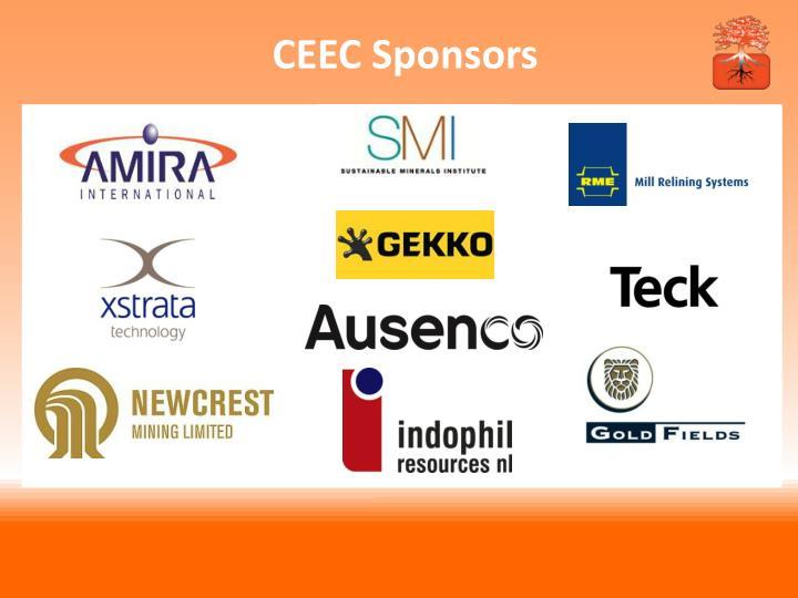 CEEC Sponsors