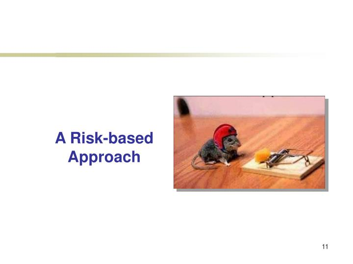 A Risk-based Approach