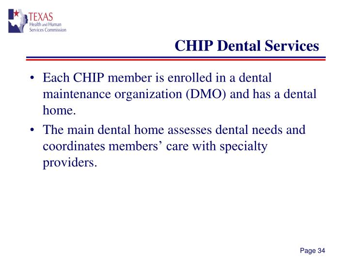 CHIP Dental Services