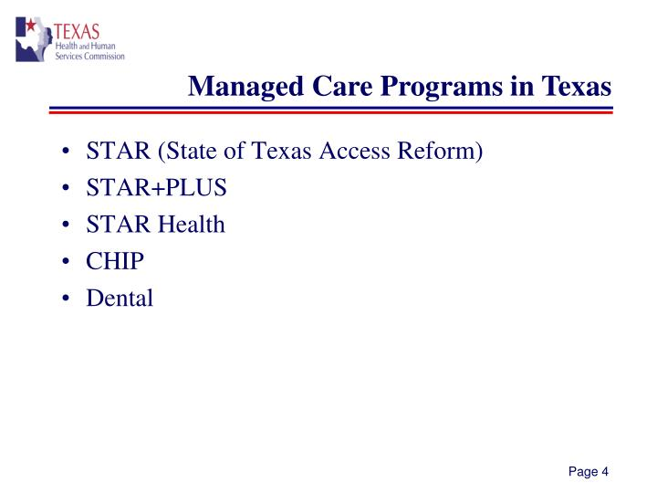 STAR (State of Texas Access Reform)