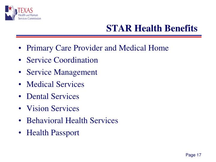 STAR Health Benefits