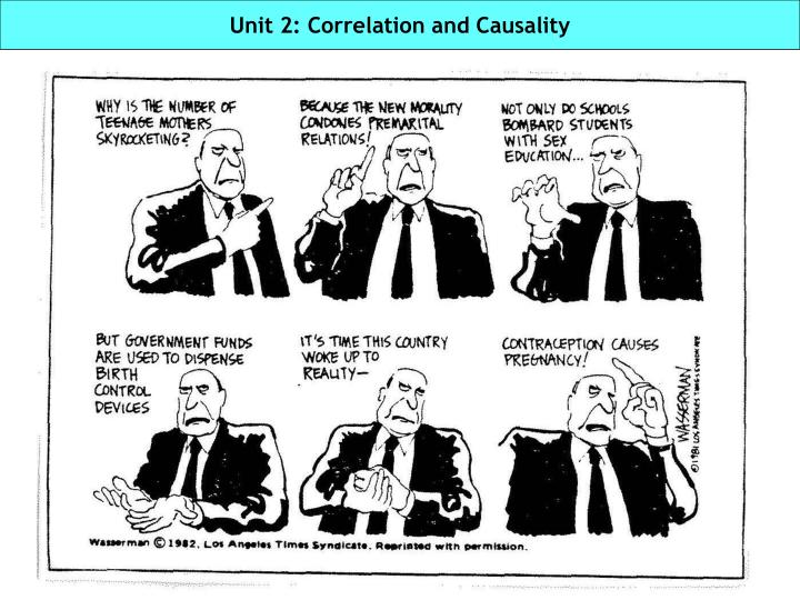 Unit 2 correlation and causality