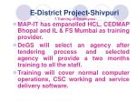 e district project shivpuri 7 training of employees