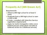 prosperity act mn dream act2