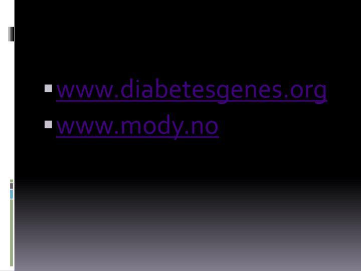 www.diabetesgenes.org
