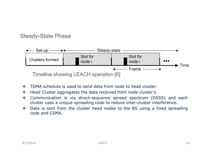 Steady-State Phase