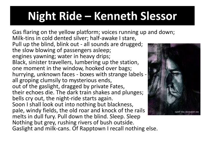 out of time kenneth slessor analysis