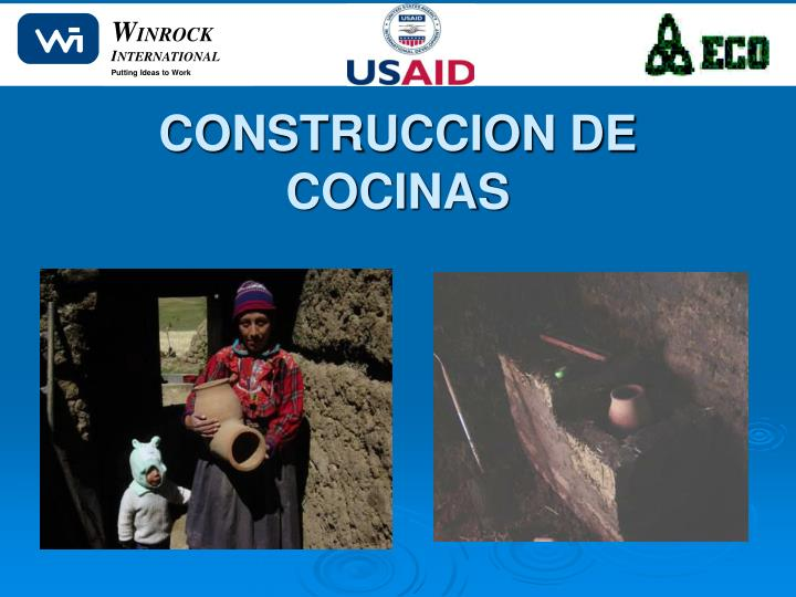 CONSTRUCCION DE COCINAS