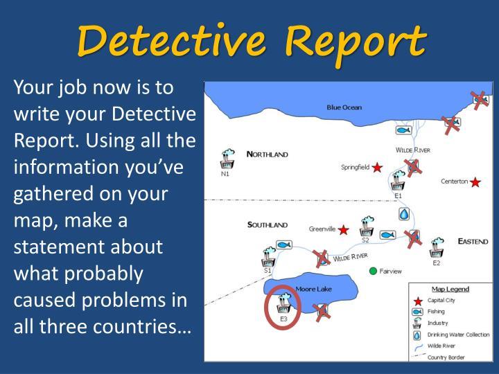 Detective Report