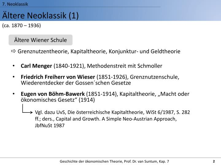 7. Neoklassik