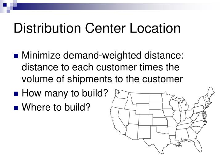 Distribution Center Location