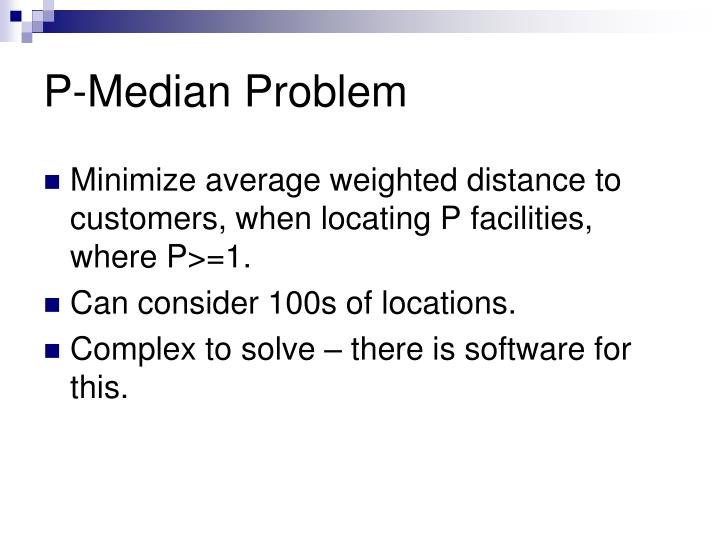 P-Median Problem