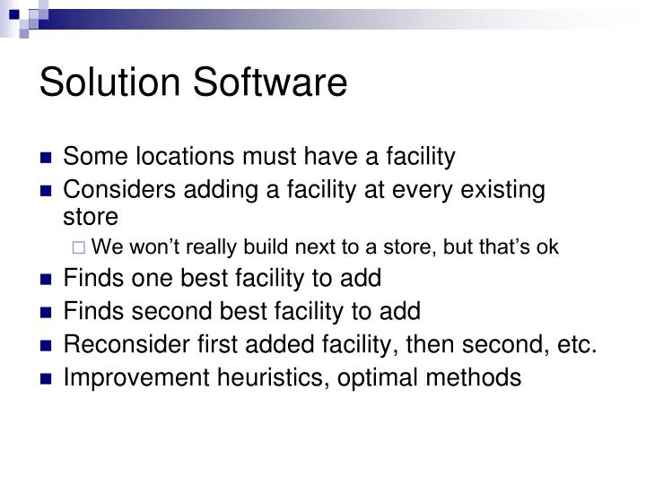 Solution Software