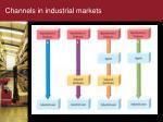 channels in industrial markets