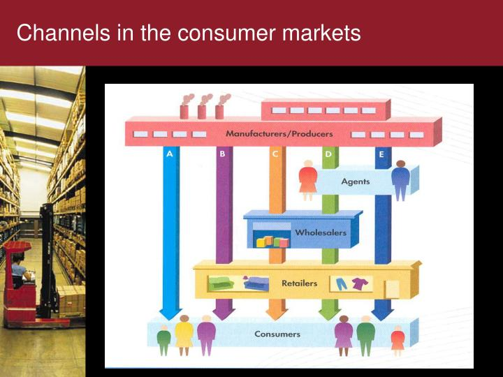 Channels in the consumer markets