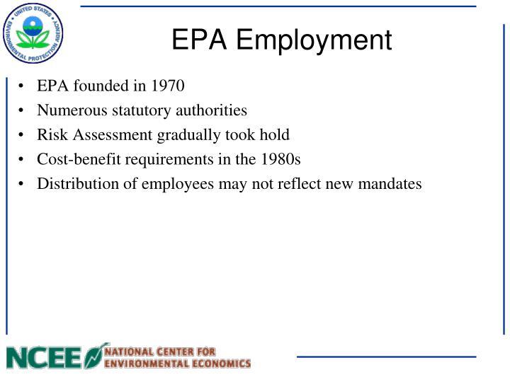 EPA Employment