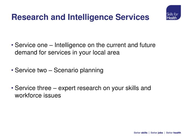 Research and Intelligence Services