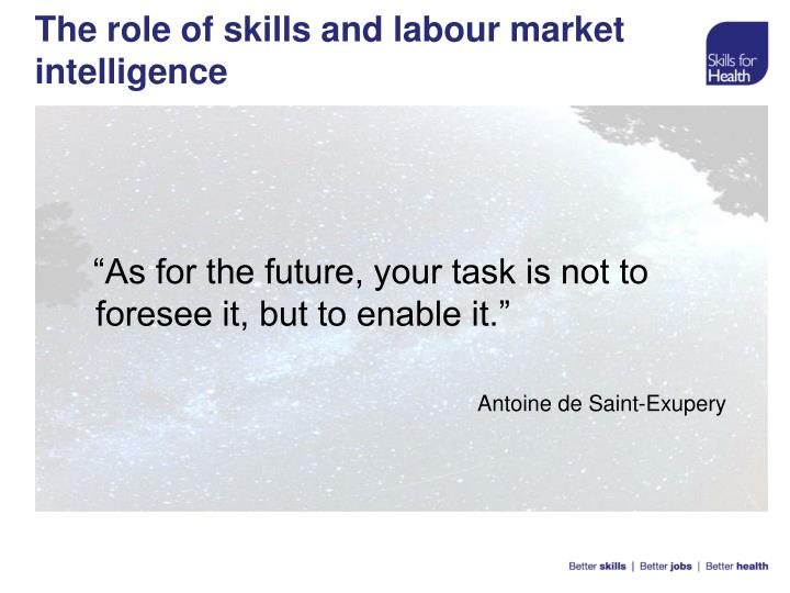 """As for the future, your task is not to foresee it, but to enable it."""