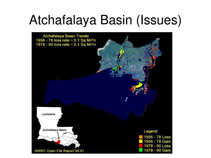 Atchafalaya Basin (Issues)