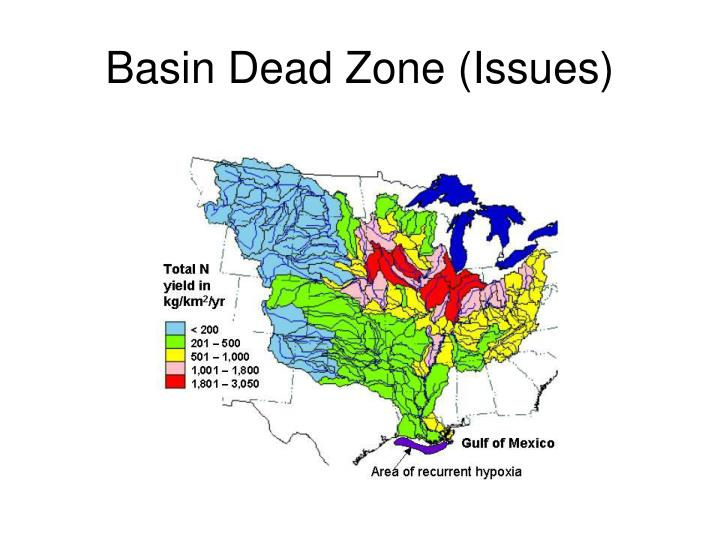 Basin Dead Zone (Issues)