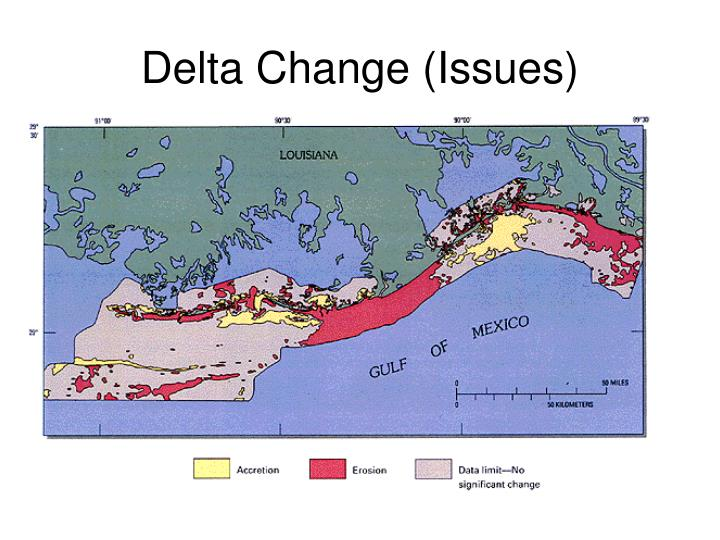 Delta Change (Issues)