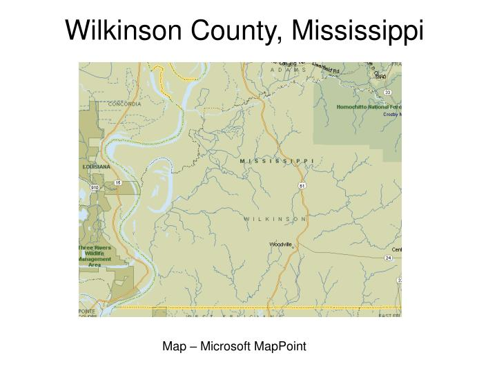 Wilkinson County, Mississippi
