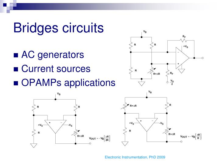 Bridges circuits