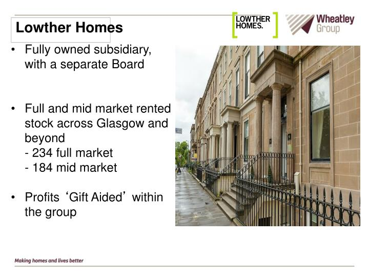 Lowther Homes