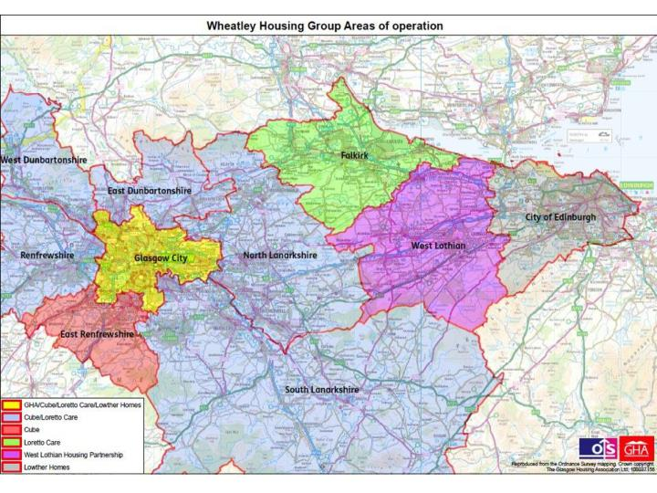 Wheatley Group Geographical Footprint
