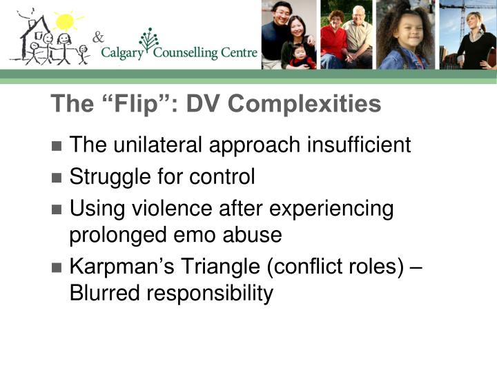 "The ""Flip"": DV Complexities"