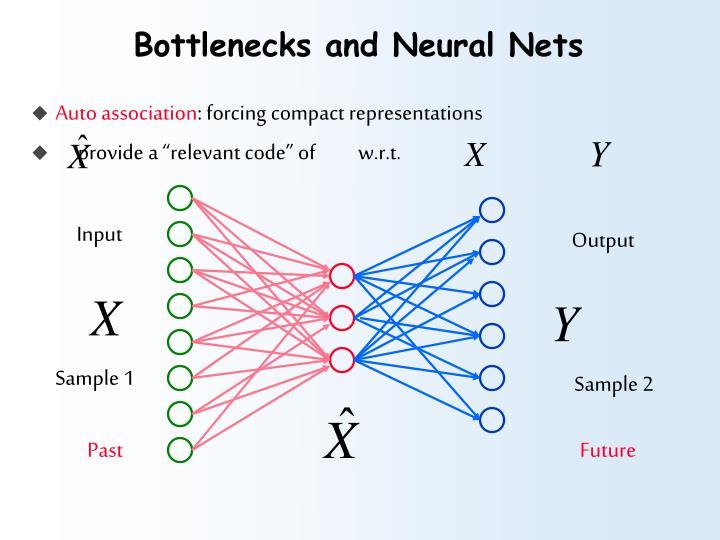 Bottlenecks and Neural Nets