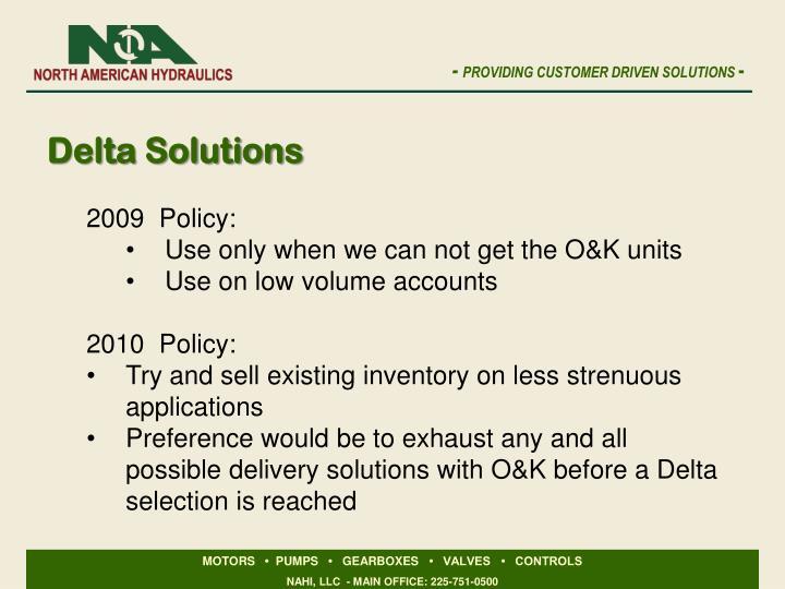 Delta Solutions