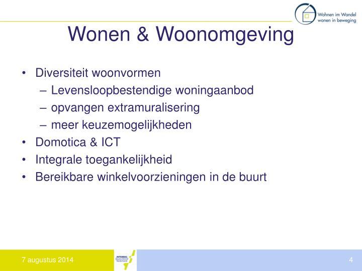 Wonen & Woonomgeving