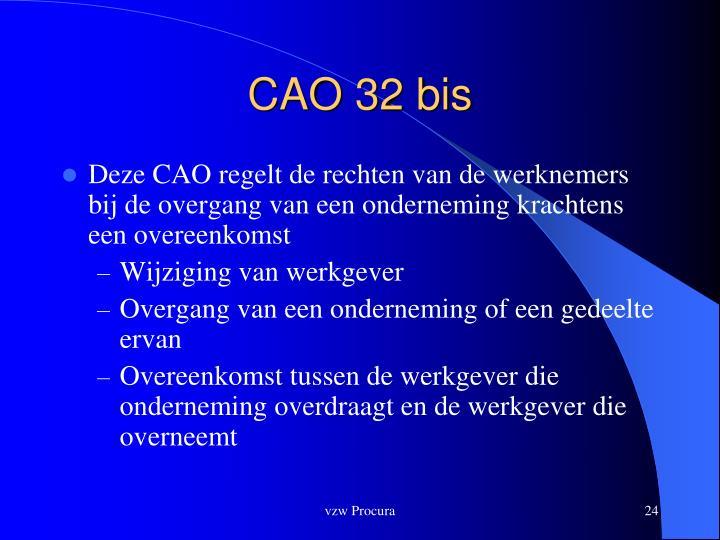 CAO 32 bis