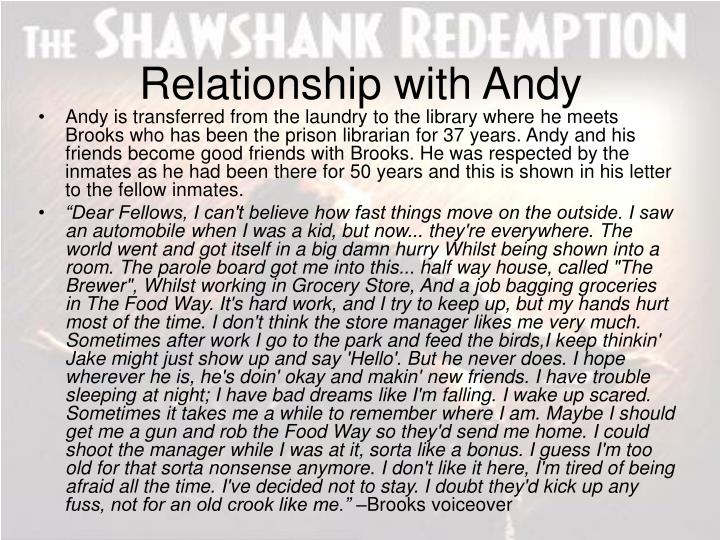 Relationship with Andy