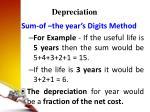 depreciation25