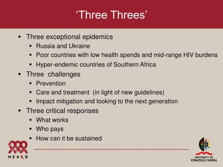'Three Threes'