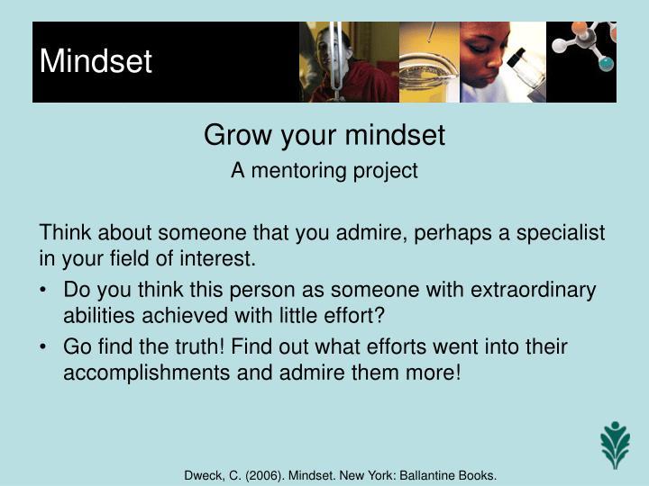 Grow your mindset