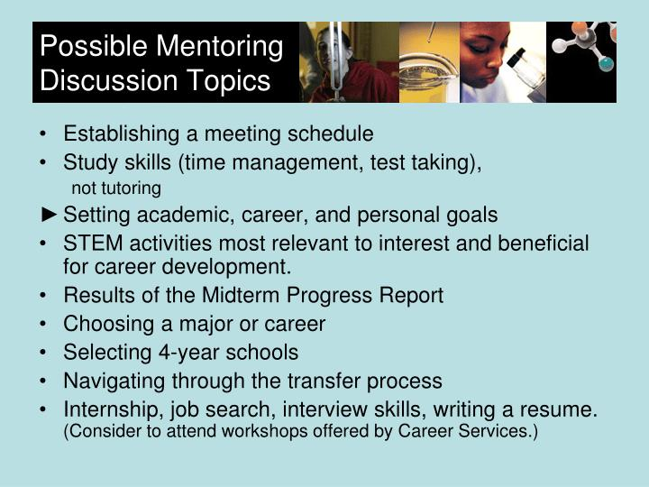 Possible Mentoring