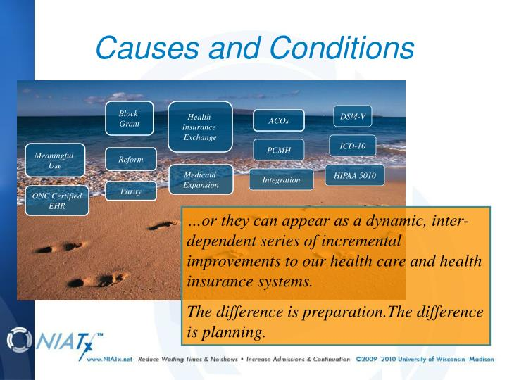 Causes and Conditions