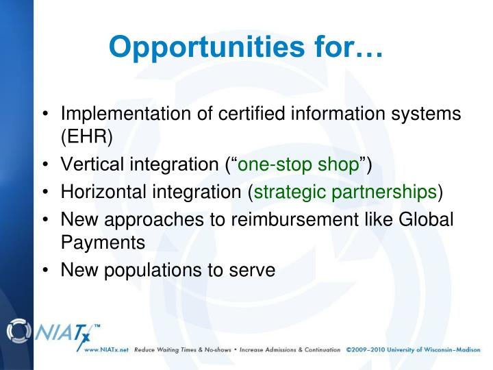 Implementation of certified information systems (EHR)