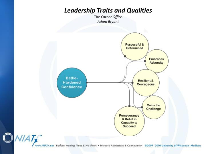 Leadership Traits and Qualities
