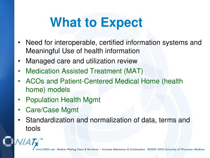 Need for interoperable, certified information systems and Meaningful Use of health information