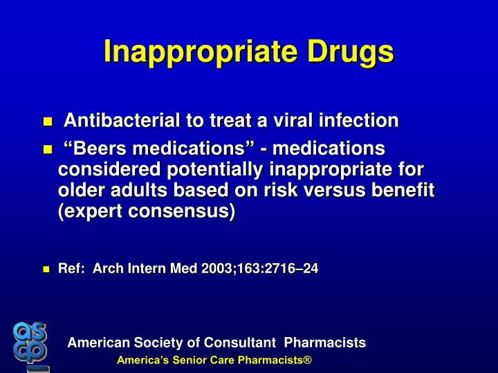 Antibacterial to treat a viral infection