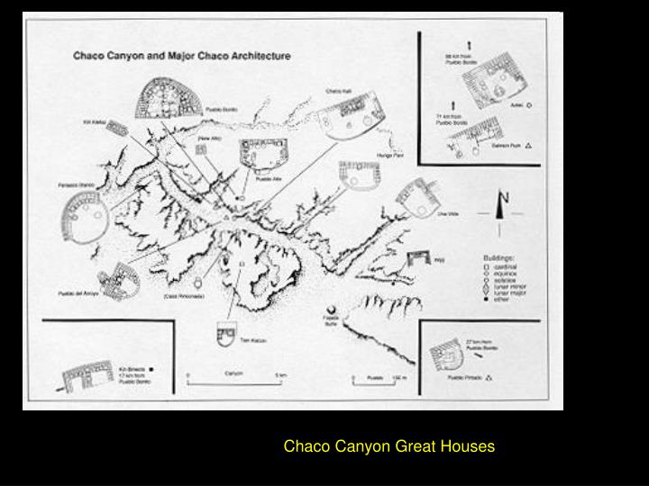 Chaco Canyon Great Houses