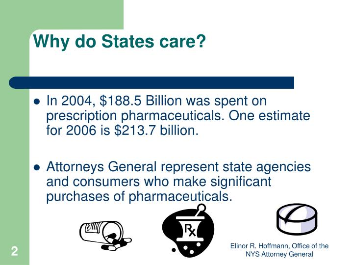 Why do States care?