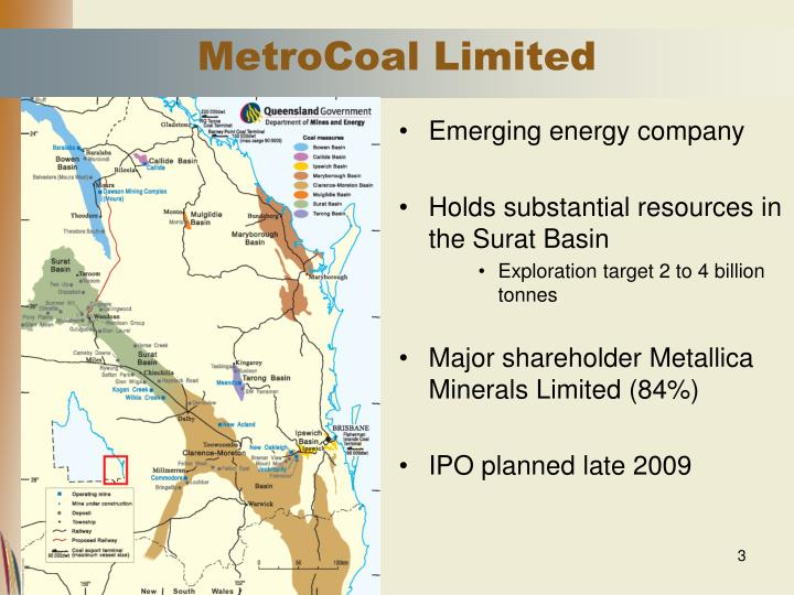 Metrocoal limited